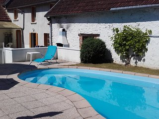 Holiday home in a French village with private swimming pool - Gouzon vacation rentals