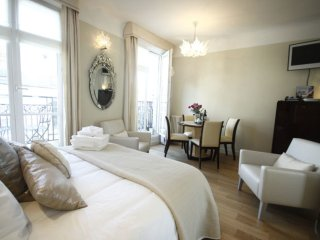 Elegant studio with private balcony, steps from Le Centre Georges Pompidou - Paris vacation rentals