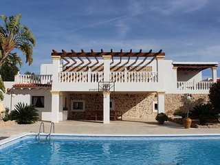 Rustic Ibizan house with nice pool in the area of Sant Joan de Labritja. - Sant Joan de Labritja vacation rentals