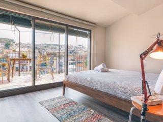 Sleep & Stay- Luxury top floor apartment on Santa Clara with terrace - Girona vacation rentals