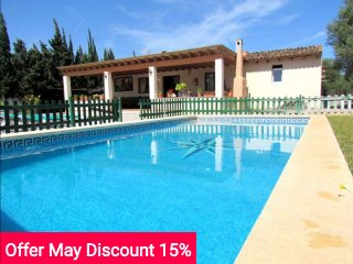 Last minute offer 15% May 2017. Cozy cottage with pool in Sa Coma. - Sa Coma vacation rentals
