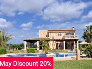 Descount 20% May! Beautiful Majorcan farmhouse 6 pax - Felanitx vacation rentals