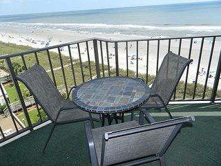POPULAR Ocean Front Elegant Tropical Condo - Just a few weeks available! - North Myrtle Beach vacation rentals