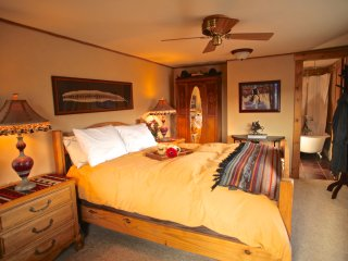 Whiskey Belle Ranch, an Elegant Western Bed & Breakfast.  The SunDance Bedroom - Livermore vacation rentals