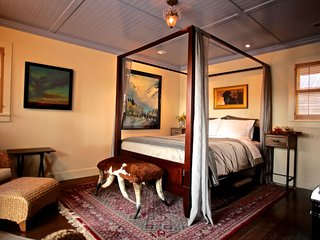 Whiskey Belle Ranch, an Elegant Western Bed & Breakfast.  The Pendelton Bedroom - Livermore vacation rentals