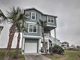 NEW! 4BR Galveston House w/ Private Beach Access! - Galveston vacation rentals