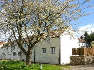 THE COTTAGE, white washed cottage, open fire, lawned garden, parking, in - Staxton vacation rentals