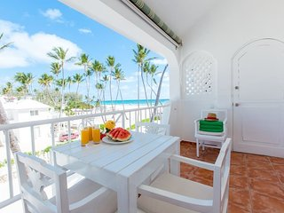 Beach front Ocean View Apt Paradisus WiFi Cleaning - Bavaro vacation rentals