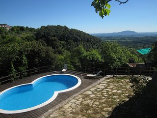 Casa Dolce Aria- Villa with pool and spectacular views in Montasola Lazio Italy - Montasola vacation rentals