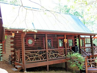 Mountain Laurel Log Cabin with free WIFI - Brasstown vacation rentals