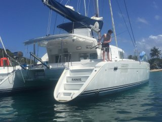 Catamaran ANNIE - Lagoon 440 with four staterooms based in the Grenadines - Mayreau vacation rentals