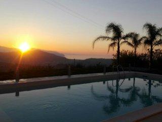 Detached 3 bed Villa, private pool & garden overlooking the Aeolian Islands!!! - Castroreale vacation rentals