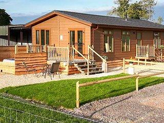 WHITEY TOP LODGE, stunning views, hot tub, open plan, near Damerham, Ref 948951 - Damerham vacation rentals