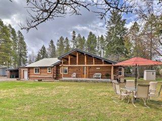 NEW! 3BR Columbia Falls Cabin w/ Deck & Porch! - Columbia Falls vacation rentals