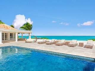 BEAU RIVAGE...well designed beachfront 3BR villa provides exceptional vistas of - Baie Rouge vacation rentals