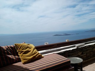Andros island House Sleeps 4 Mountain Sea View + Pool - Andros Town vacation rentals