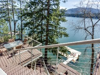 Dog-friendly waterfront home w/ dock & boat slip boasts amazing views! - Hayden Lake vacation rentals