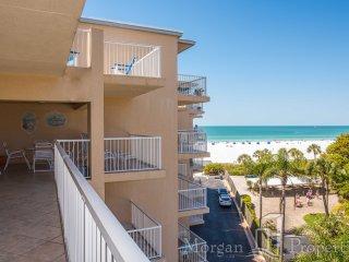 Morgan Properties - Jamaica Royale #T54 - Ocean-front 2 Bed / 2 Bath Condo - Siesta Key vacation rentals