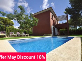 Last Minute 18% April and May 2017. Modern twinhouse with own pool and garden - Cala Pi vacation rentals
