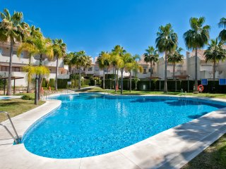Beautiful beachside townhouse in gated complex with swimming pool - Marbella vacation rentals