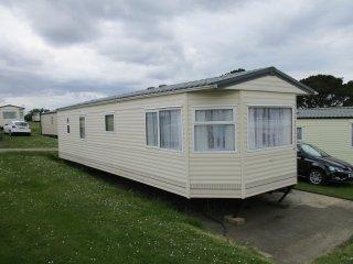Rain or shine it's caravan time  at Sandhills,  Bembridge, Isle of Wight. - Bembridge vacation rentals