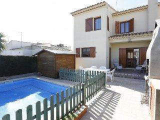 3 bedroom Villa in L Ametlla de Mar, Costa Daurada, Spain : ref 2395314 - Calafat vacation rentals