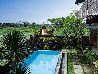 Murni's Villa Ligondi - Upper Floor - Double Bedroom 1 - Ubud vacation rentals