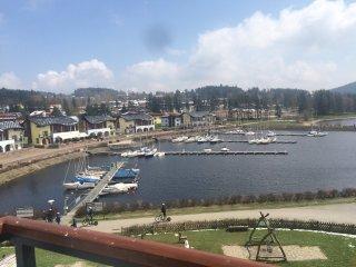 SPRING PROMO 30% OFF Lipno Marina,,Lakefront Penthouse 2 story,3 bdrm,1.5 bath - Lipno nad Vltavou vacation rentals