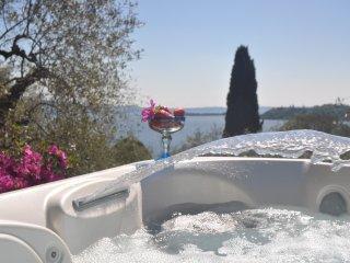 Wonderful Villa with mini pool, stunning view, garden, AC, WIFI, garage in Salò - Gardone Riviera vacation rentals