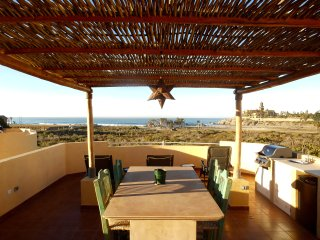 Steps to Cerritos Beach; Panoramic views from your private rooftop balcony! - El Pescadero vacation rentals