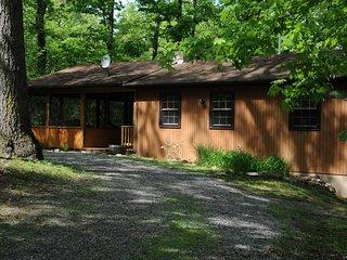 """""""Simplicity"""" Cozy Mountain Cabin w/Hot Tub - Rileyville vacation rentals"""