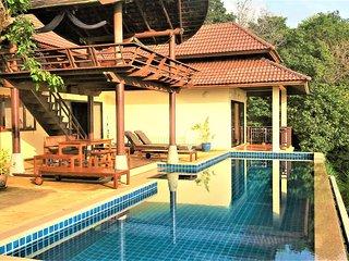 The Great Escape Villa, Kantiang Bay. Koh Lanta. Sea View family Pool Villa. - Ko Lanta vacation rentals