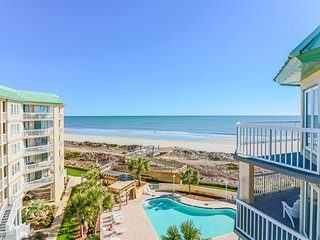 Oceanfront 5th floor condo, gated community, panoramic views, private amenities - Pawleys Island vacation rentals