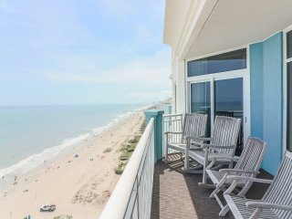 Huge Luxurious Oceanfront Penthouse; jetted tub, giant balcony, recent updates! - Myrtle Beach vacation rentals