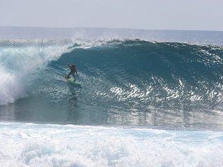 Surf lodge, Asu Island, Northern Sumatra, Indonesia. Perfect waves-no crowd - Nias Island vacation rentals