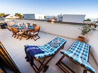 Breathtaking Seaview Penthouse in Petrcane near Zadar - Petrcane vacation rentals