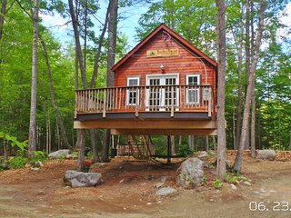 1 bedroom Tree house with Deck in East Stoneham - East Stoneham vacation rentals