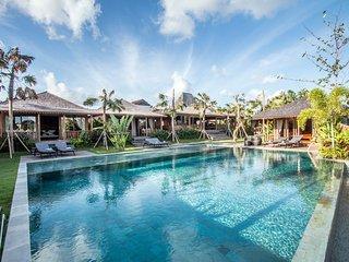 Sylvia 5 Bedroom Villa, Rice Field View, Feature Jacuzzi and Gardens, Canggu - Canggu vacation rentals