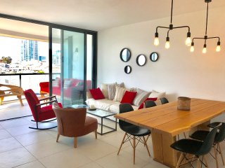 Sea View Modern New 3 Bedroom with a Balcony (Red) - Tel Aviv vacation rentals