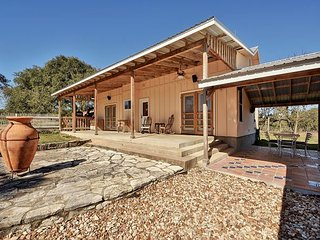 80 Acre Countryside Estate in Driftwood with Lovely Courtyard - Driftwood vacation rentals