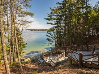 Charming Log Cabin w/ Deeded Beach Access - Boothbay Harbor vacation rentals
