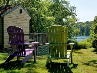 Historic Home on Bourne Pond – 4 Acres of Land, 10 Minutes to Beach - East Falmouth vacation rentals