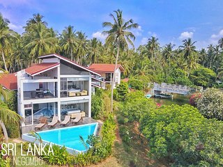 Deluxe Villa by river with infinity-edge plunge pool - Negombo vacation rentals