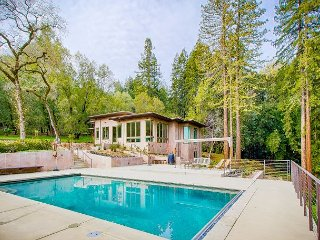 Ultimate Privacy w/ Pool in Sonoma's Redwoods: 4BR, 4BA New Modern Home - Sonoma vacation rentals