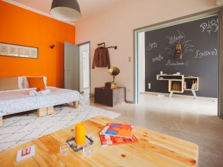 Modern Athens Apartment / Sleep6 / Private Yard - Agios Dimitrios vacation rentals