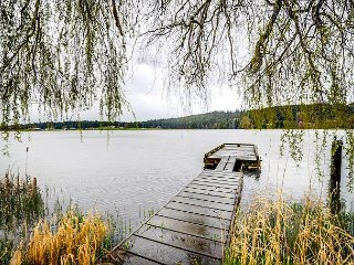 Peaceful Lakefront Escape w/ Hot Tub and Private Dock - Langley vacation rentals