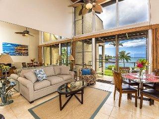 Napili Point C-12... Enjoy Oceanfront, Modern, Upscale Coastal Furnishings! - Lahaina vacation rentals