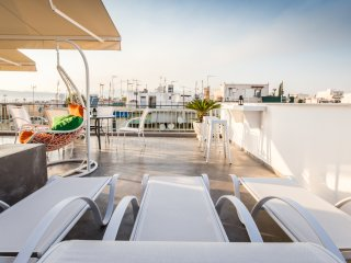 Stylish Athens Penthouse + Rooftop Terrace & View - Athens vacation rentals