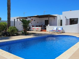 Two bedroom villa with private pool and sea views - Playa Blanca vacation rentals