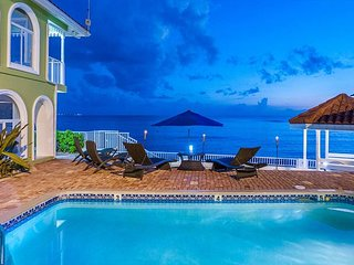 Luxury Beachfront Home on 7 Mile Beach with Pool!  5BR 'Serenity Now' - West Bay vacation rentals